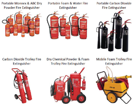 Fire Rescue & Fire Extinguishers